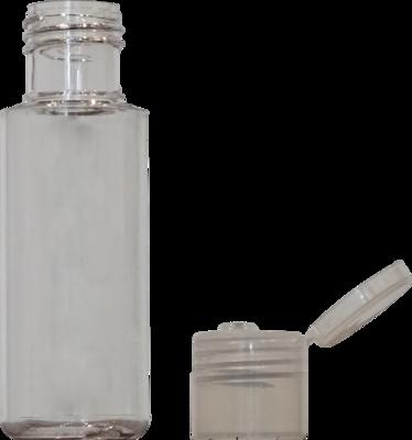 60ml - Round Plastic Bottle (BF1 [K] 348)