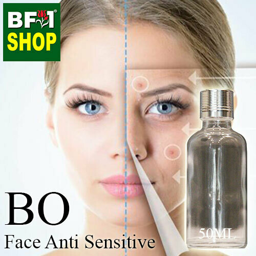 Blended Essential Oil (BO) - Face Anti Sensitive Essential Oil - 50ml