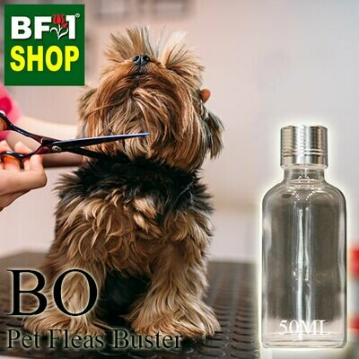 Blended Essential Oil (BO) - Pet Fleas Buster Essential Oil - 50ml