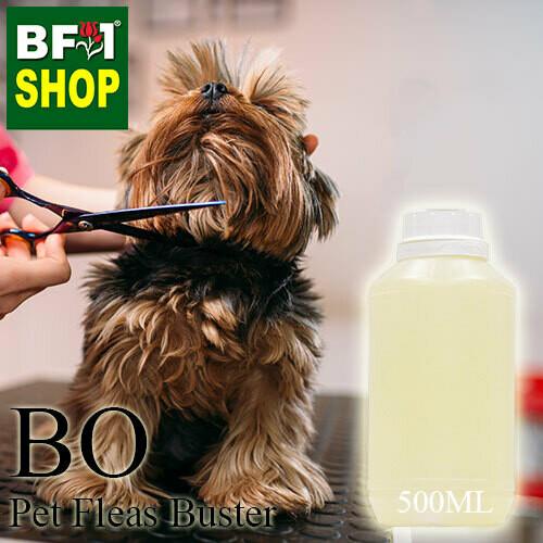 Blended Essential Oil (BO) - Pet Fleas Buster Essential Oil - 500ml