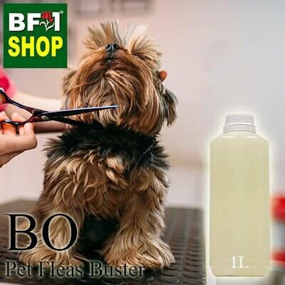 Blended Essential Oil (BO) - Pet Fleas Buster Essential Oil - 1L