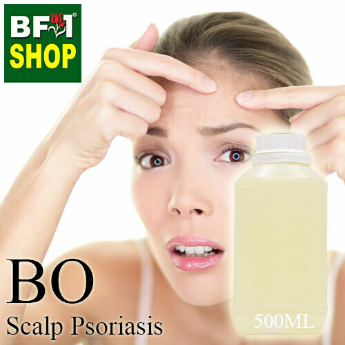 Blended Essential Oil (BO) - Scalp Psoriasis Essential Oil - 500ml
