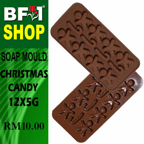 SM - 12x5g Soap Mould Christmas Candy