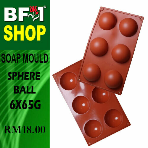 SM - 6x65g Soap Mould Sphere Ball