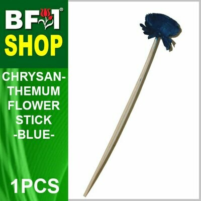 BAP- Reed Diffuser Flower Stick - Chrysanthemum - Blue x 1pc