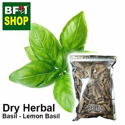 Dry Herbal - Basil - Lemon Basil	- 500g