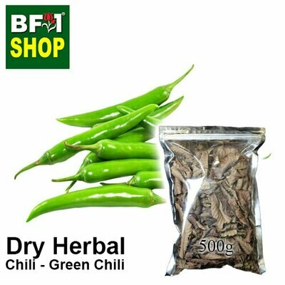 Dry Herbal - Chili - Green Chili - 500g