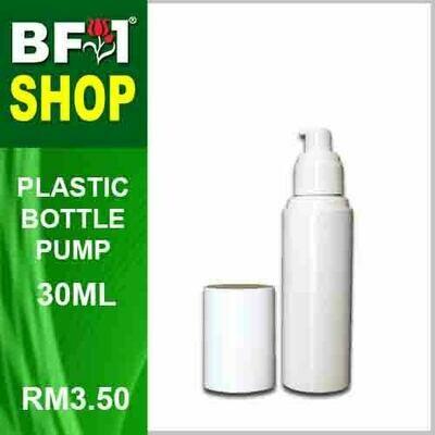 30ml - Plastic Bottle Pump