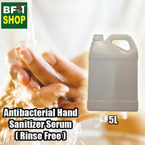 Rosemary Fragrance Oil Antibacterial Hand Sanitizer Serum ( Rinse Free ) 5000ml