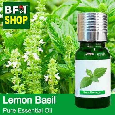 Pure Essential Oil (EO) - Basil - Lemon Basil ( Citriodorum Basil ) Essential Oil - 10ml