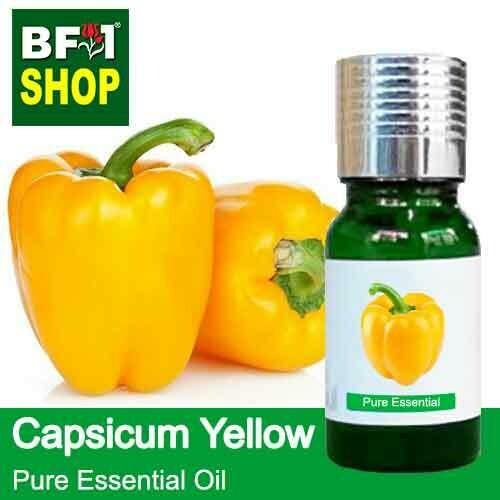 Pure Essential Oil (EO) - Capsicum Yellow Essential Oil - 10ml