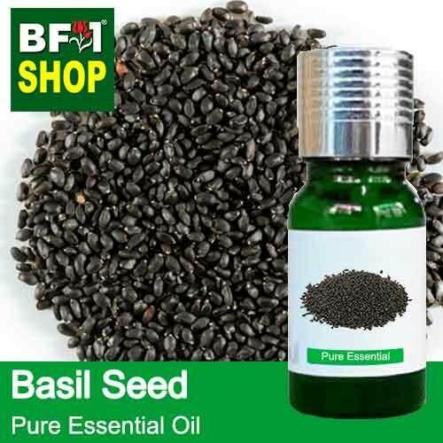 Pure Essential Oil (EO) - Basil Seed ( Ocimum Basilcum ) Essential Oil - 10ml