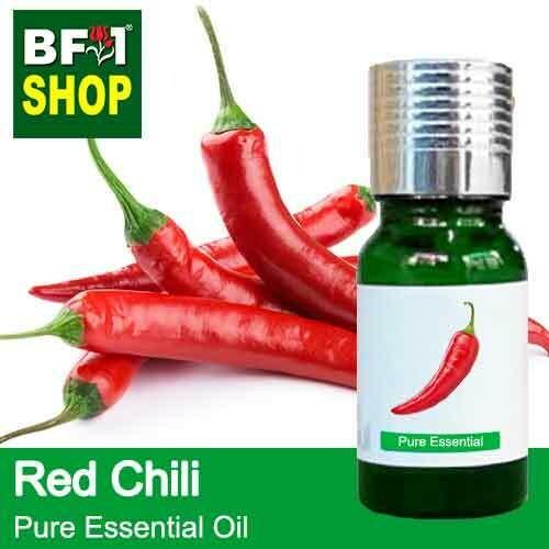 Pure Essential Oil (EO) - Chili - Red Chili Essential Oil - 10ml