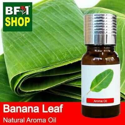 Natural Aroma Oil (AO) - Banana Leaf Aroma Oil - 10ml