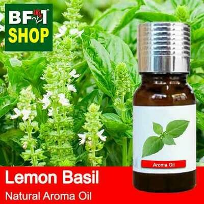 Natural Aroma Oil (AO) - Basil - Lemon Basil ( Citriodorum Basil ) Aroma Oil - 10ml