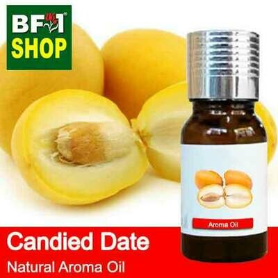 Natural Aroma Oil (AO) - Date - Candied Date Aroma Oil - 10ml