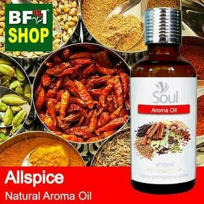 Natural Aroma Oil (AO) - Allspice Aroma Oil  - 50ml