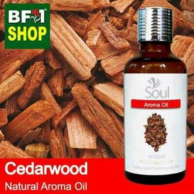 Natural Aroma Oil (AO) - Cedar Wood Aroma Oil  - 50ml