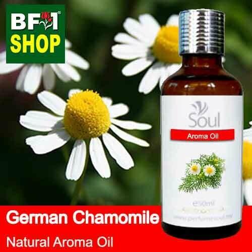 Natural Aroma Oil (AO) - Chamomile - German Chamomile Aroma Oil  - 50ml