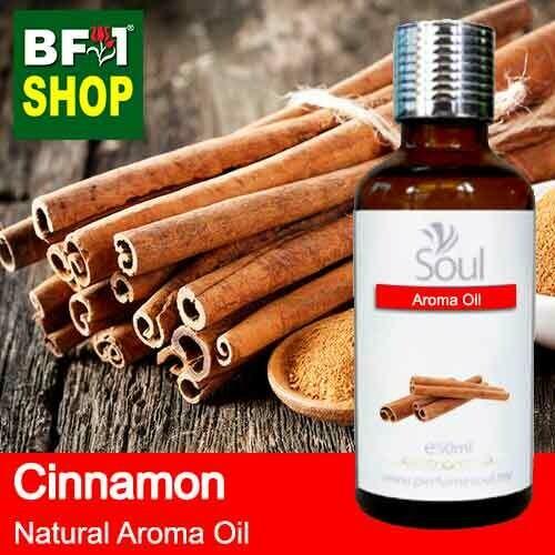 Natural Aroma Oil (AO) - Cinnamon Aroma Oil  - 50ml