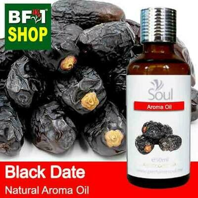 Natural Aroma Oil (AO) - Date - Black Date Aroma Oil  - 50ml