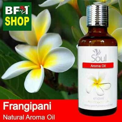 Natural Aroma Oil (AO) - Frangipani Aroma Oil  - 50ml