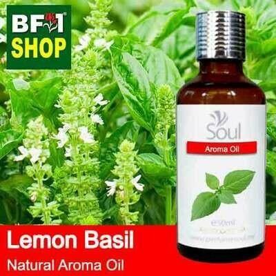 Natural Aroma Oil (AO) - Basil - Lemon Basil ( Citriodorum Basil ) Aroma Oil  - 50ml