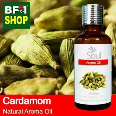 Natural Aroma Oil (AO) - Cardamom Aroma Oil  - 50ml