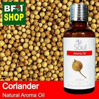 Natural Aroma Oil (AO) - Coriander Aroma Oil  - 50ml