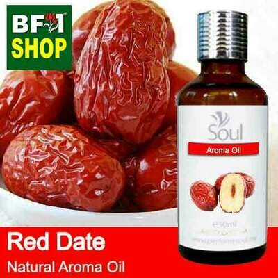 Natural Aroma Oil (AO) - Date - Red Date Aroma Oil  - 50ml