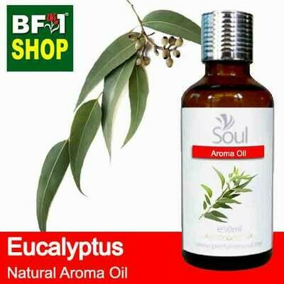 Natural Aroma Oil (AO) - Eucalyptus Aroma Oil  - 50ml