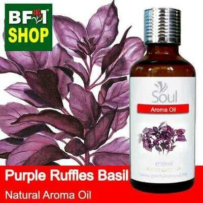 Natural Aroma Oil (AO) - Basil - Purple Ruffles Basil Aroma Oil  - 50ml