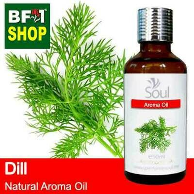 Natural Aroma Oil (AO) - Dill ( Anethum Graveolens ) Aroma Oil - 50ml
