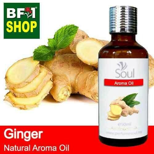 Natural Aroma Oil (AO) - Ginger Aroma Oil  - 50ml