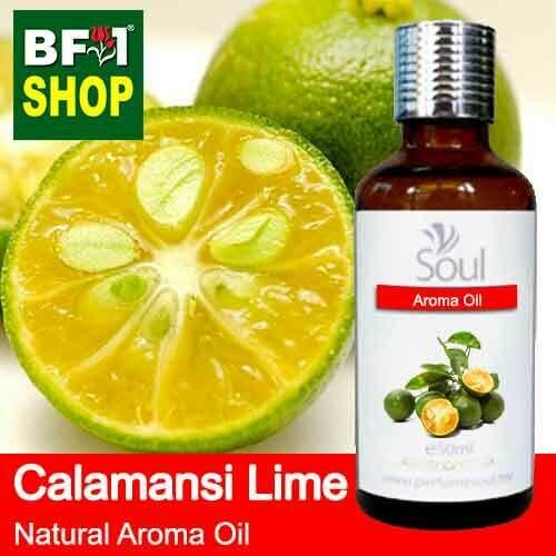 Natural Aroma Oil (AO) - Lime - Calamansi Lime Aroma Oil  - 50ml
