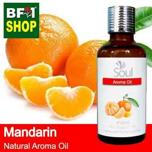 Natural Aroma Oil (AO) - Mandarin Aroma Oil  - 50ml