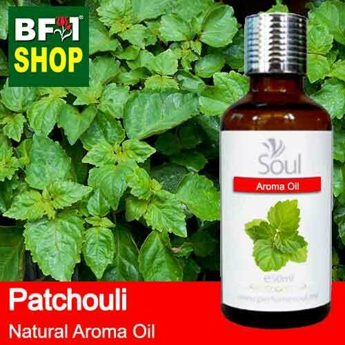 Natural Aroma Oil (AO) - Patchouli Aroma Oil  - 50ml