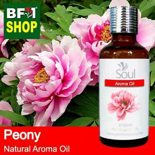 Natural Aroma Oil (AO) - Peony Flower Aroma Oil  - 50ml