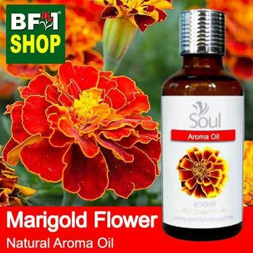 Natural Aroma Oil (AO) - Marigold Flower Aroma Oil  - 50ml