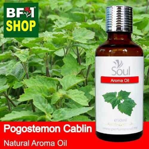 Natural Aroma Oil (AO) - Mint - Pogostemon Cablin Aroma Oil  - 50ml
