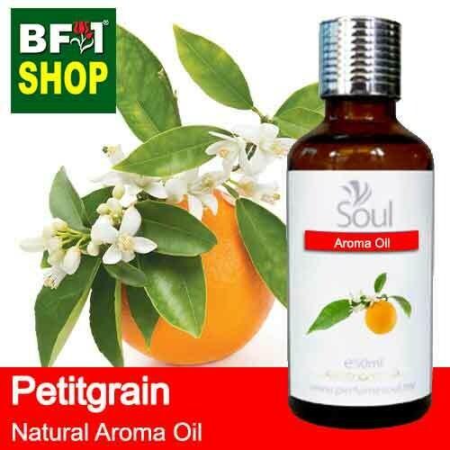 Natural Aroma Oil (AO) - Petitgrain Aroma Oil  - 50ml
