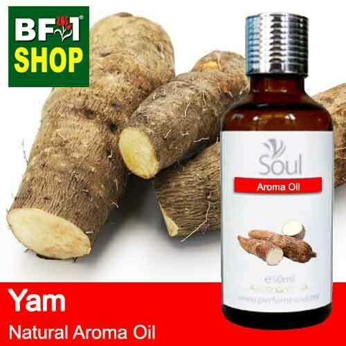 Natural Aroma Oil (AO) - Yam Aroma Oil  - 50ml
