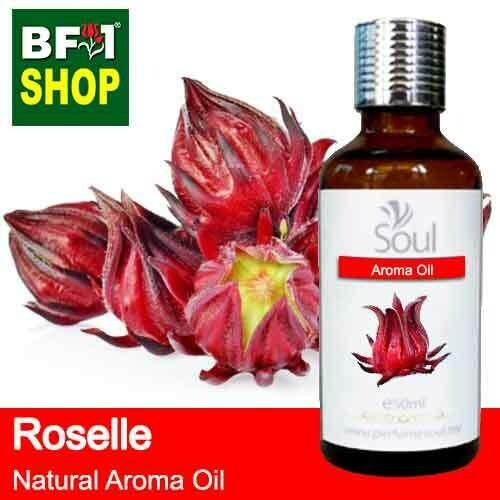 Natural Aroma Oil (AO) - Roselle Flower Aroma Oil  - 50ml