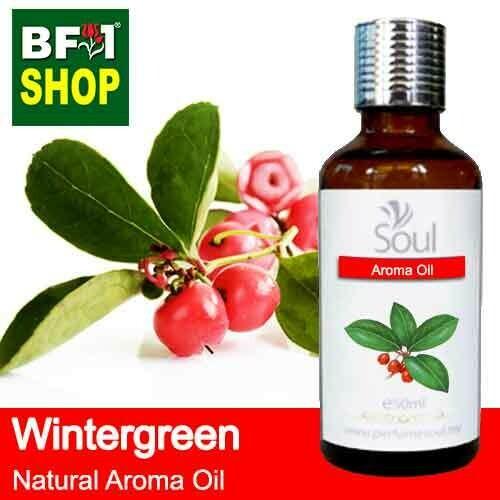 Natural Aroma Oil (AO) - Wintergreen Aroma Oil  - 50ml
