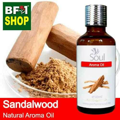 Natural Aroma Oil (AO) - Sandalwood Aroma Oil  - 50ml