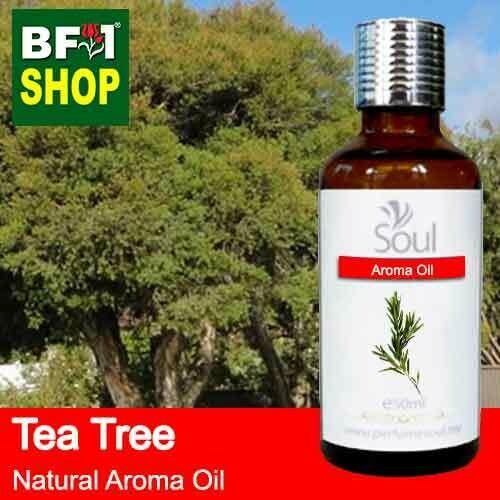 Natural Aroma Oil (AO) - Tea Tree Aroma Oil  - 50ml