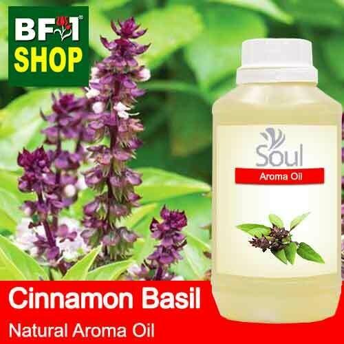 Natural Aroma Oil (AO) - Basil - Cinnamon Basil ( Thai Basil ) Aroma Oil  - 500ml