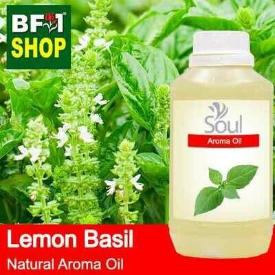 Natural Aroma Oil (AO) - Basil - Lemon Basil ( Citriodorum Basil ) Aroma Oil  - 500ml