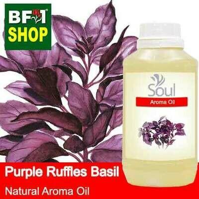 Natural Aroma Oil (AO) - Basil - Purple Ruffles Basil Aroma Oil  - 500ml
