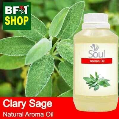Natural Aroma Oil (AO) - Clary Sage Aroma Oil  - 500ml